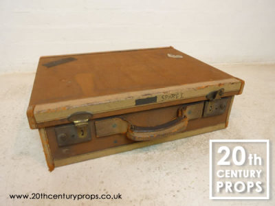 Vintage canvas case