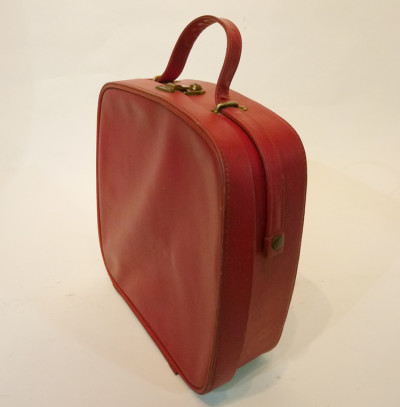Small Red Vanity Case