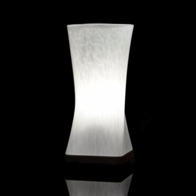 Cordless Table Lamp - Decorative Glass Design