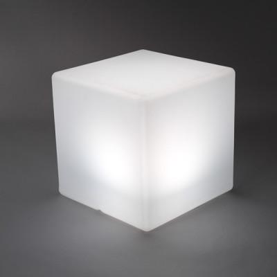 Illuminated Wireless Cube - indoor & outdoor use