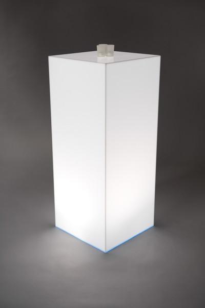 Light Box Opal Plinth