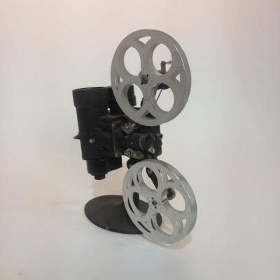 Black Vintage Bell & Howell 16mm Film Projector