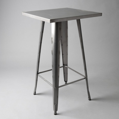 Tall Tolix Poseur Table