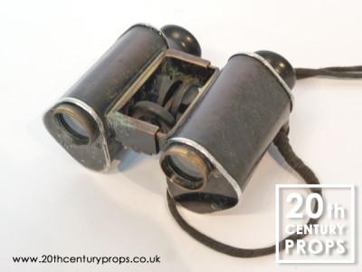 Vintage military binoculars