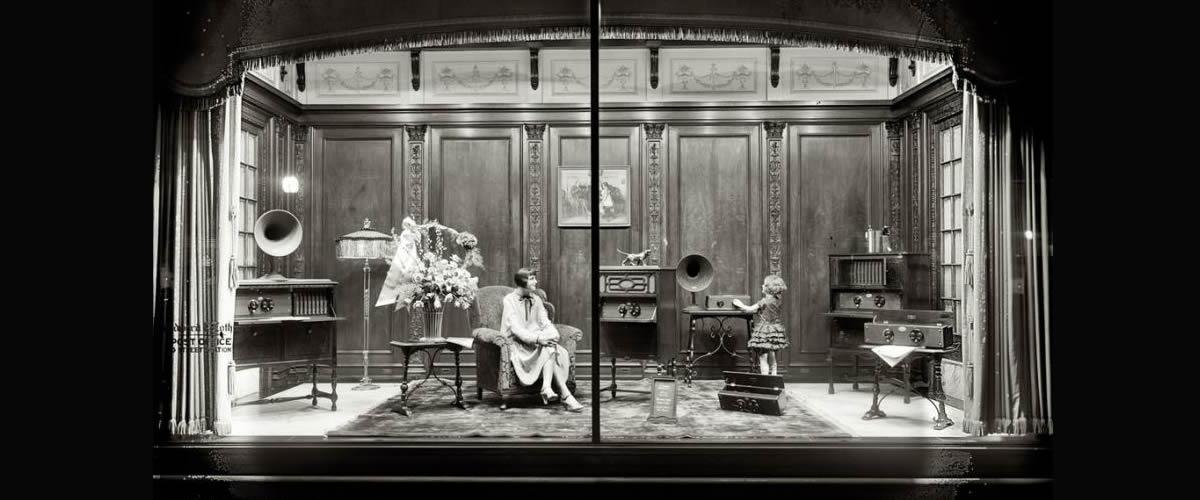 Window Display - Vintage Props