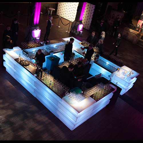Linear Modular Light Bar - Corporate Event