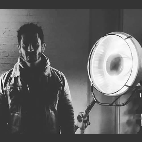 Mens Fashion Shoot - Industrial Lighting