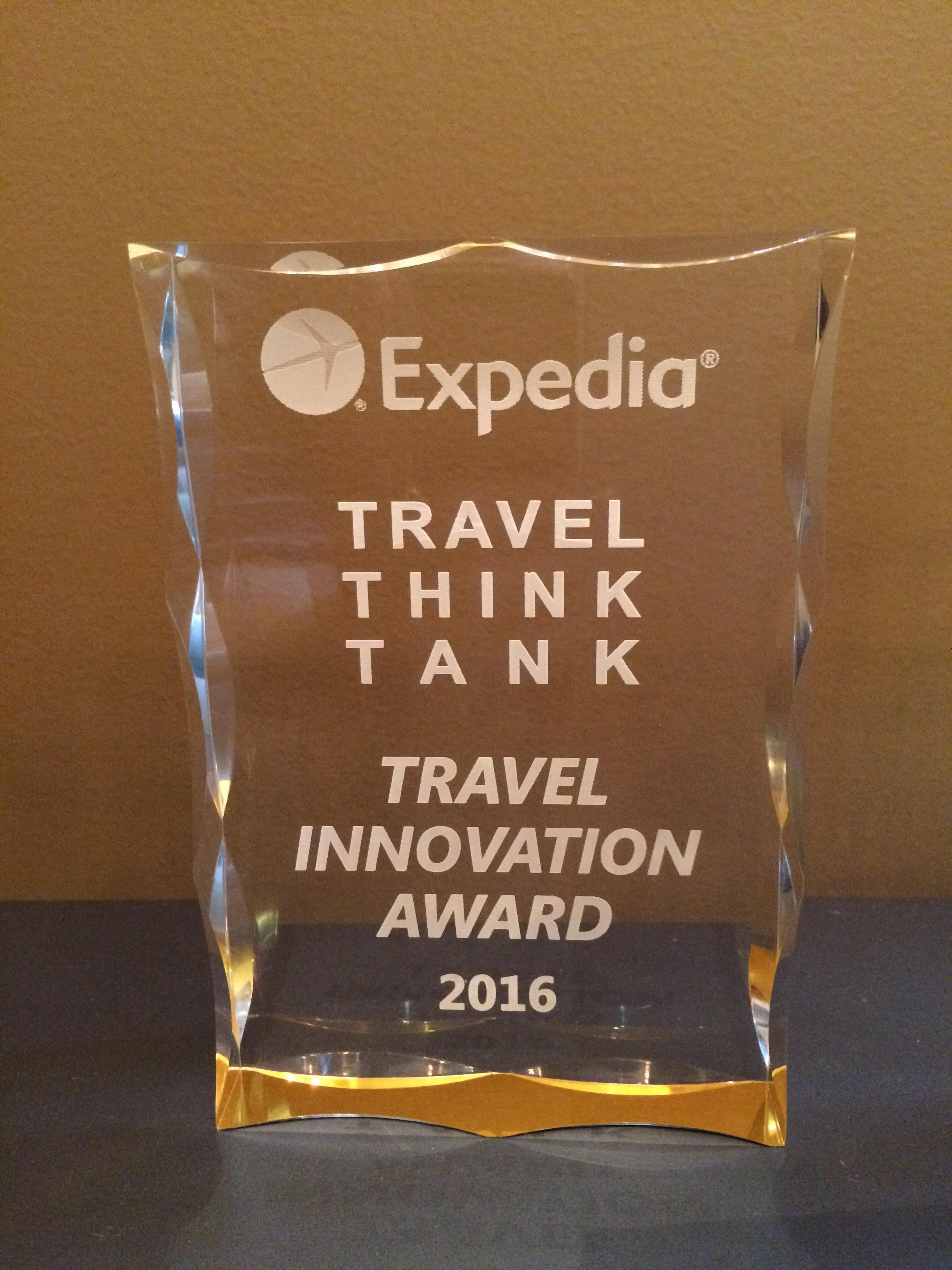 LoungeBuddy Wins Top Innovation Award At Expedia's Inaugural  #TravelThinkTank-post-image