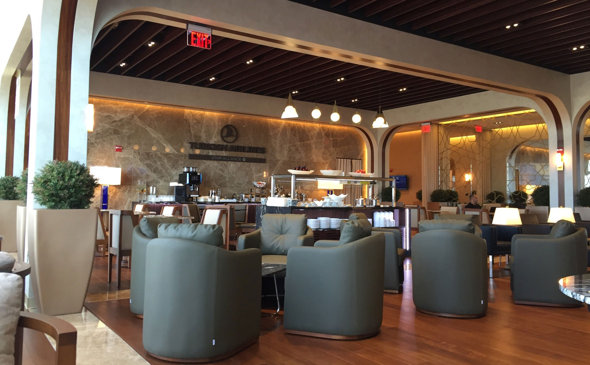 The Turkish Airlines Lounge Washington DC An Inside Look