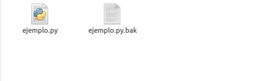 captura de archivos py