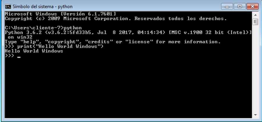Instalacion de Python