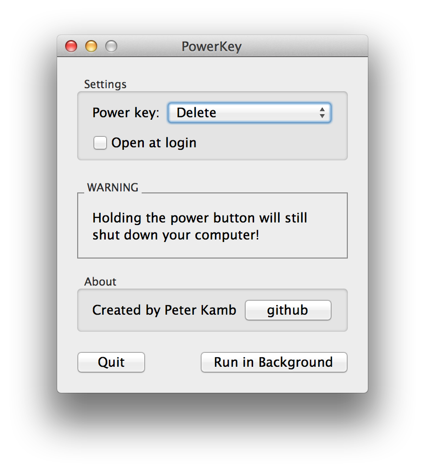 PowerKey