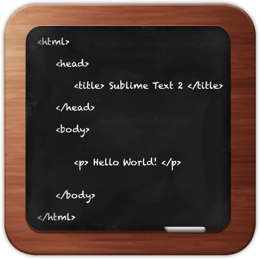 Sublime Text 2 by Dave O Brien