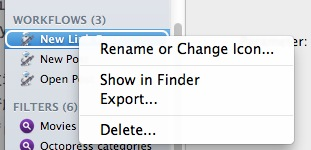 Alfred Extension Show in Finder