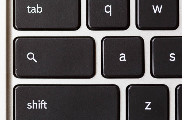 Chromebook 上的搜索键