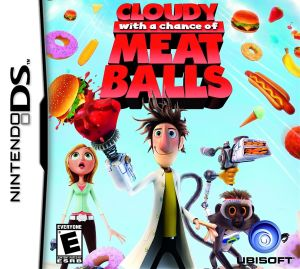 Cloudy with a Chance of Meatballs DS Game