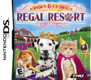 Paws & Claws Regal Resort DS Game