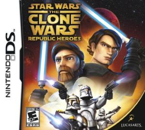 Star Wars Clone Wars: Republic Heroes DS Game
