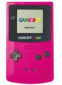 Strawberry Game Boy Color System