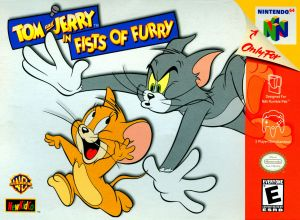 Tom & Jerry Fists of Furry