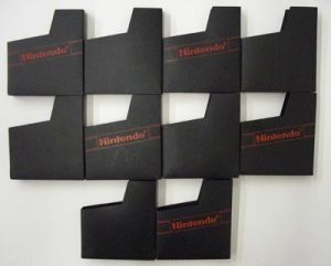 Lot of 10 NES Game Dust Covers