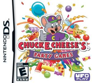 Chuck E Cheese's Party Games DS Game