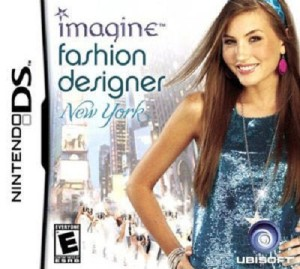Imagine Fashion Designer New York DS Game