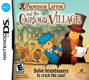Professor Layton and the Curious Village DS Game