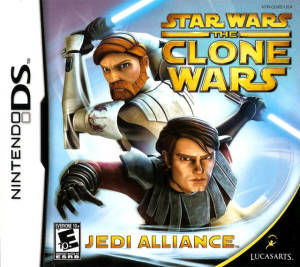 Star Wars Clone Wars Jedi Alliance DS Game