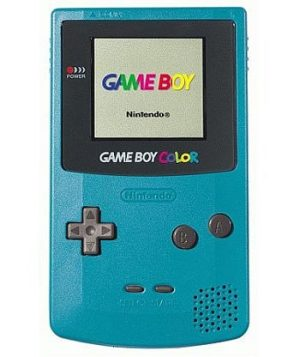 Teal Game Boy Color System