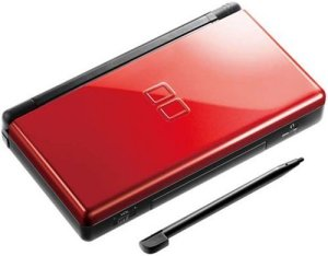 Used Nintendo DS Lite - Red and Black System - Discounted