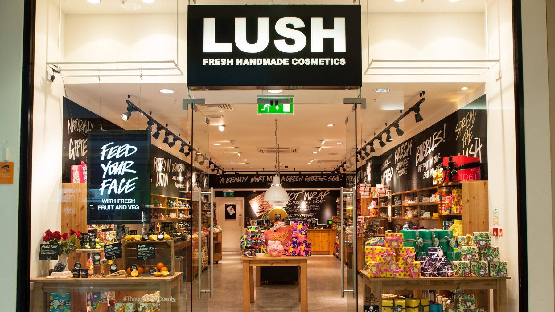 Glasgow Braehead Lush Fresh Handmade Cosmetics Uk