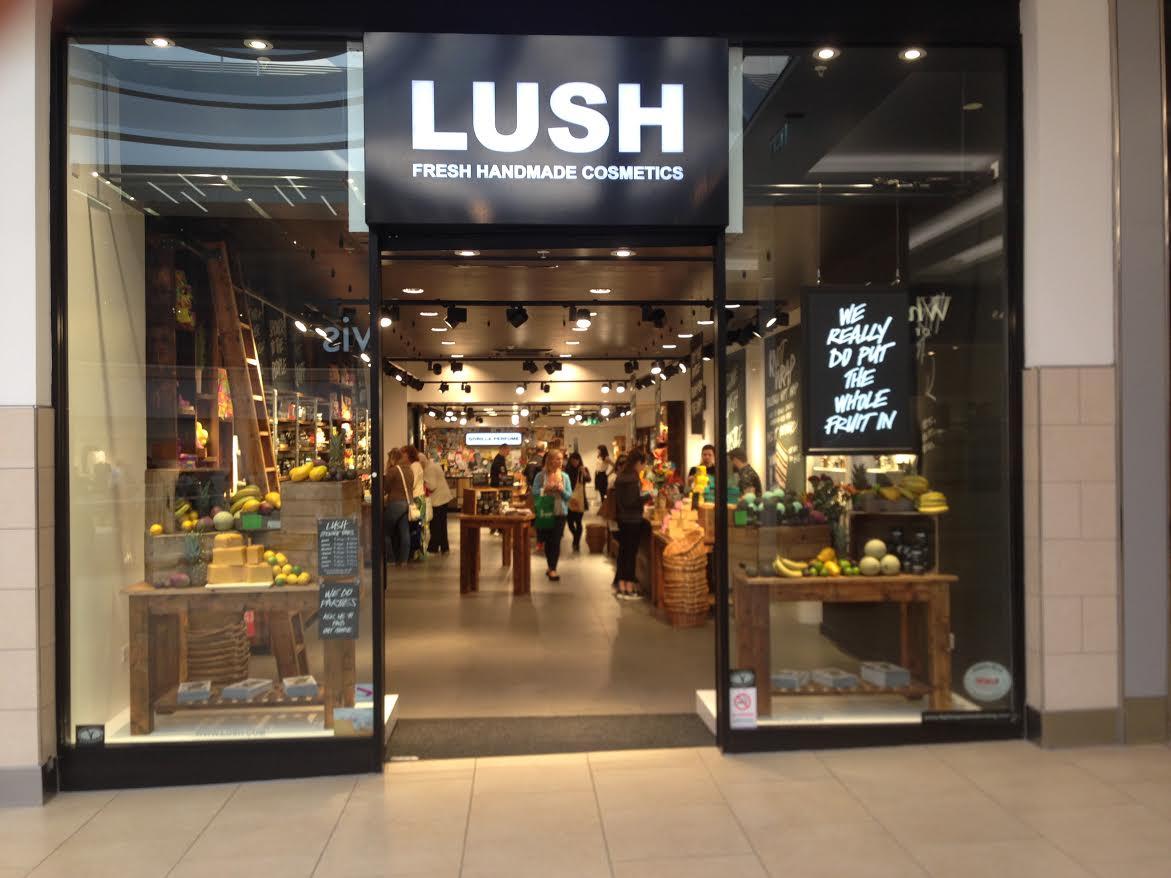 Newcastle Lush Fresh Handmade Cosmetics Uk