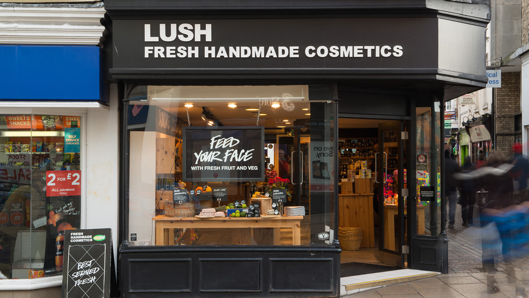 Norwich Lush Fresh Handmade Cosmetics Uk