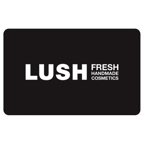 Gift Card - Black | --Gift Cards | Lush Cosmetics Hong Kong & Macau