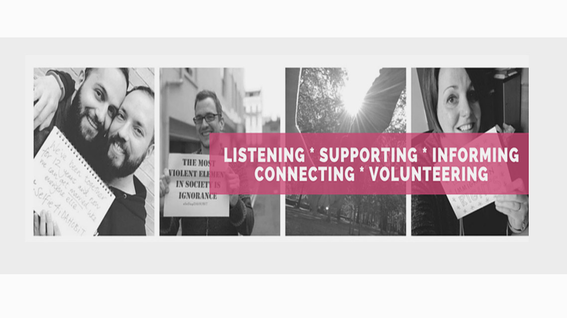 Helping Brighton's LGBT community | George, Brighton and Hove LGBT Switchboard