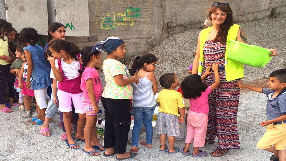 Working with Refugees on Samos | Pru Waldorf, Calais Action