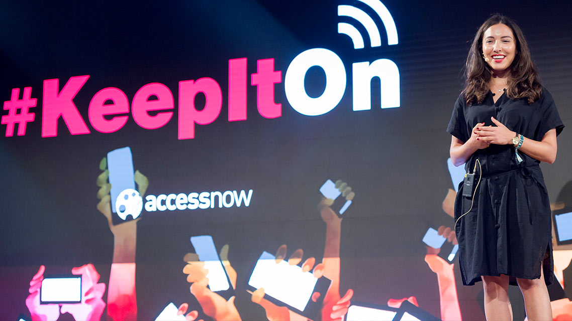 Internet rights campaigning and #KeepItOn | Wafa Ben-Hassine, Access Now