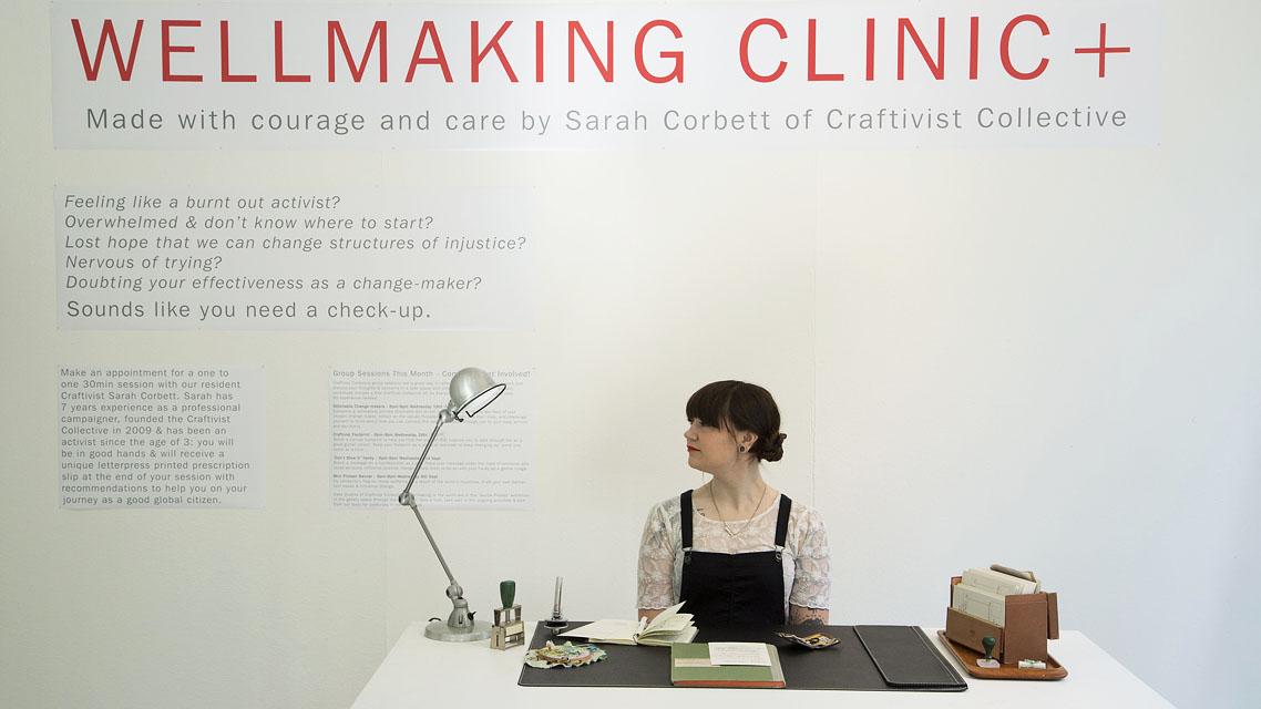 Gentle Protest | Sarah Corbett, Craftivist Collective