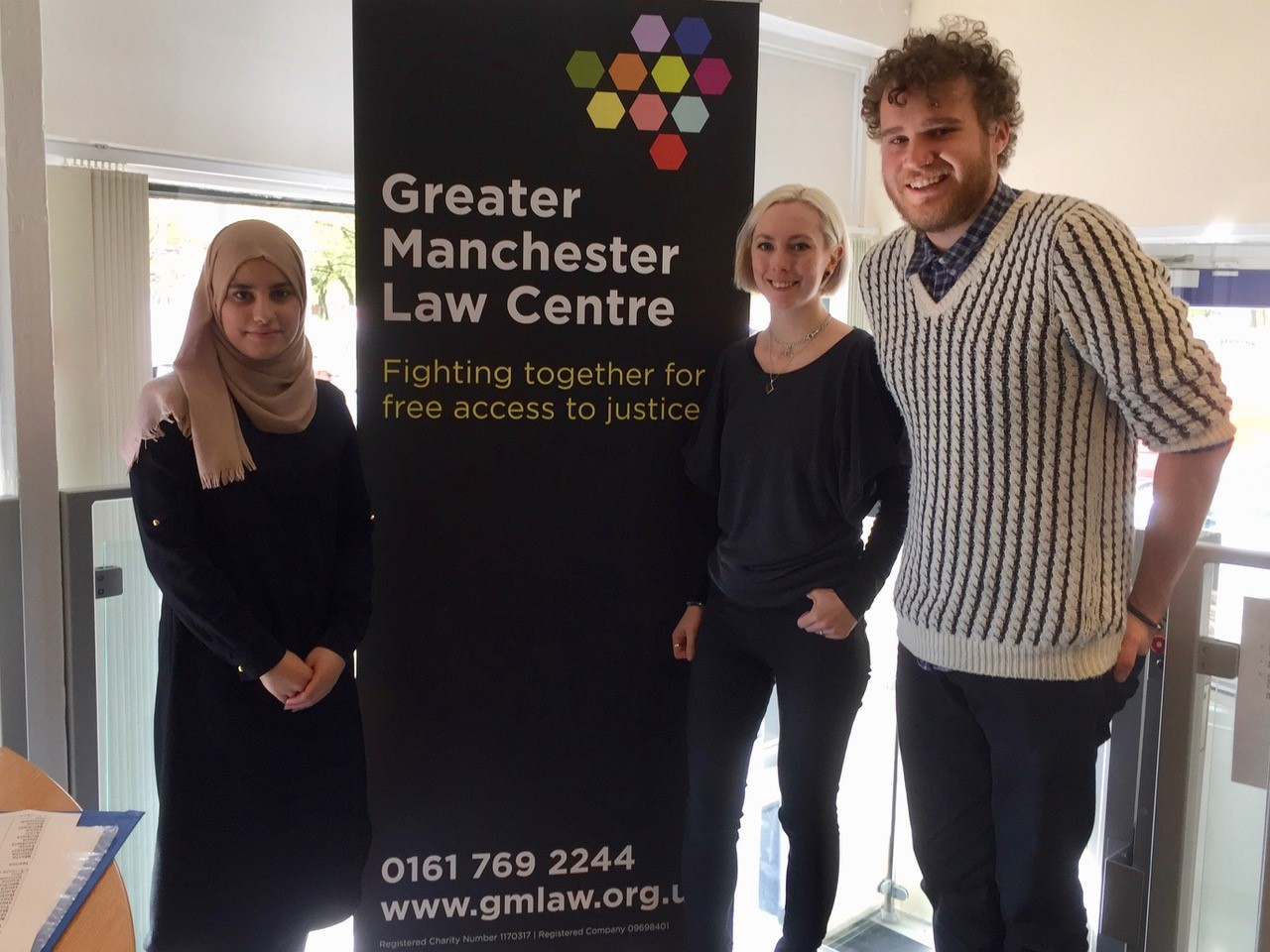 Providing free legal advice | The Greater Manchester Law Centre