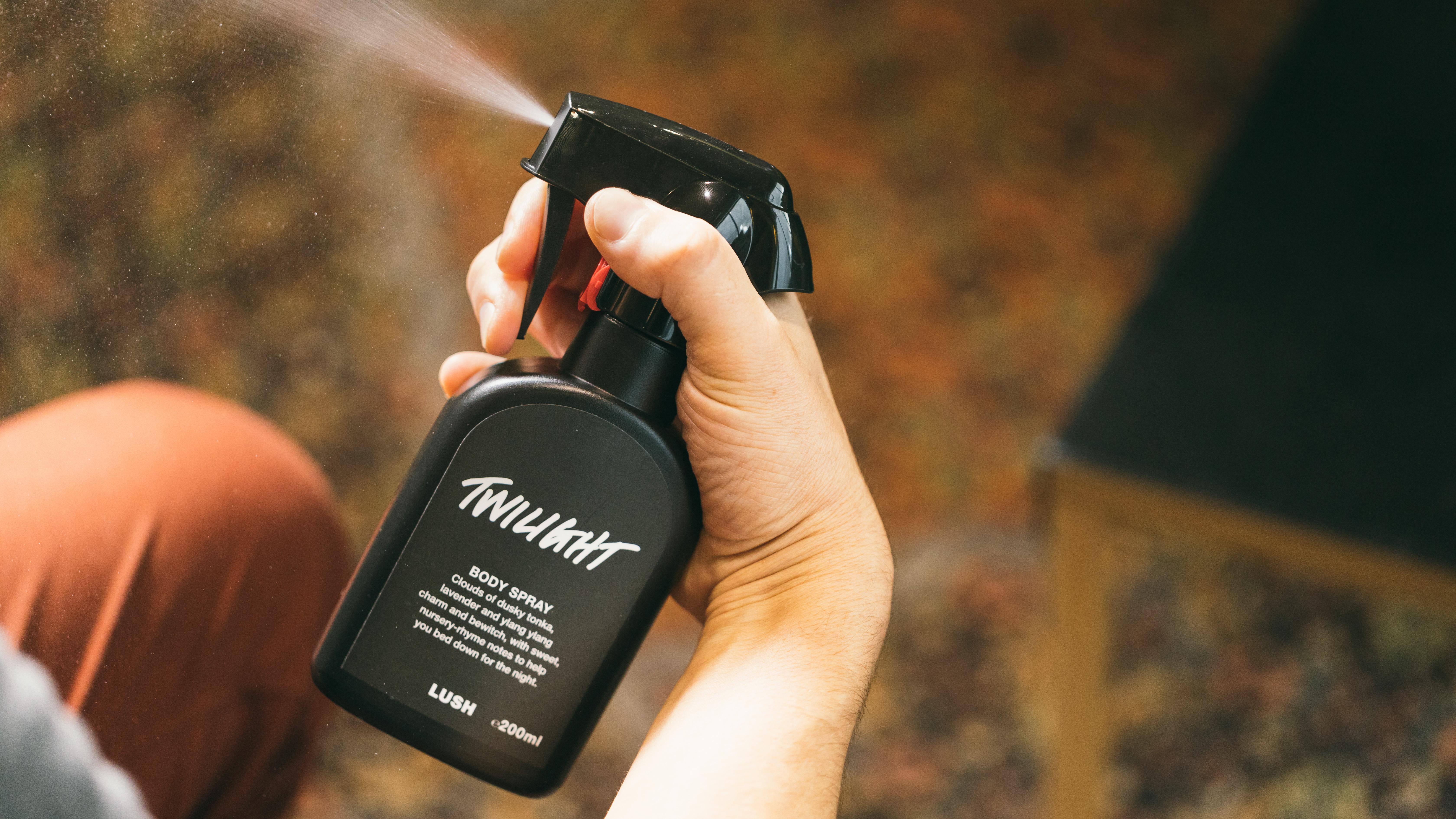 Twilight geuren body sprays lavendel lush nederland