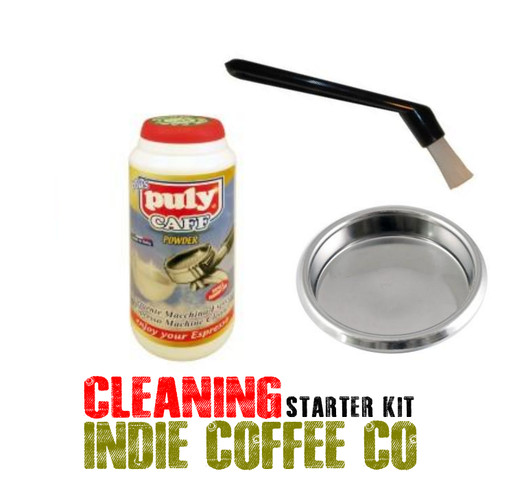 espresso machine cleaning kit