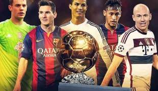 Ballon d'Or rivals