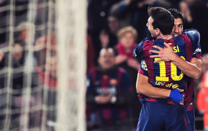 FC Barcelona make the first step to the final
