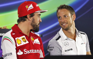 Button is looking for the weaknesses of Alonso