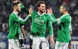 Saint-Etienne win by a large score in Tours