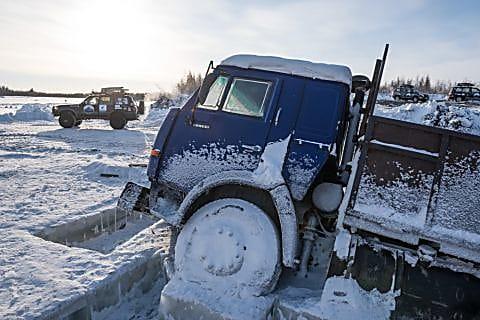 Зимник — дорога жизни и смерти в Магадане « автомагадан