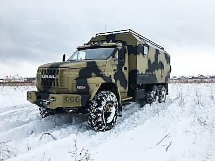 Дом на колесах на базе Урал Next в Магадане « автомагадан