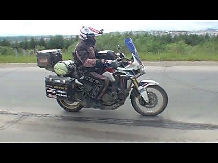 15 тысяч километров на мотоцикле проделал чех до Магадана в Магадане « автомагадан