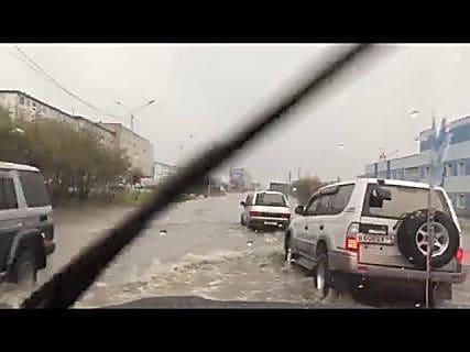 Никогда такого не было, и вот опять в Магадане « автомагадан